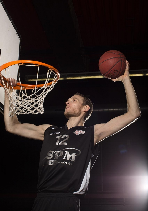 Basketballer Kees Akerboom