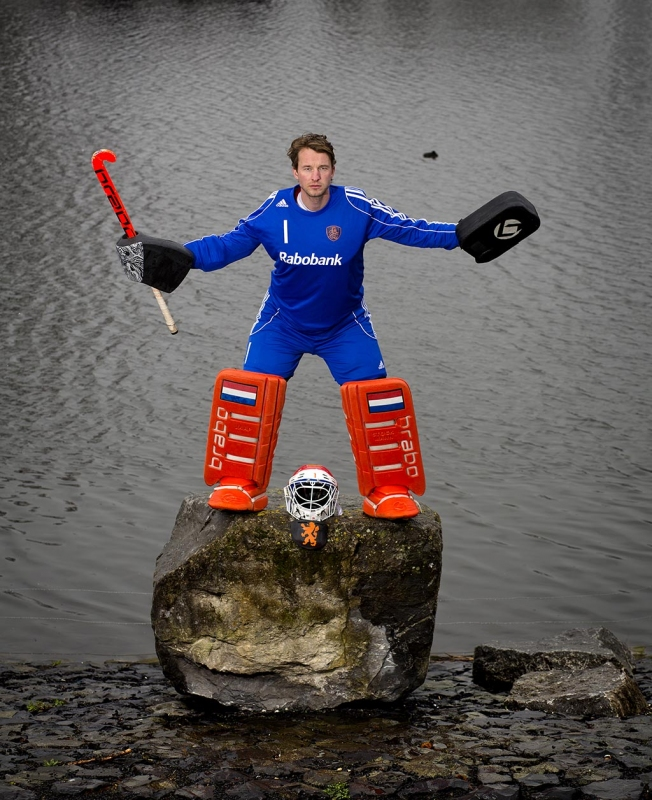 Hockey keeper Jaap Stockmann